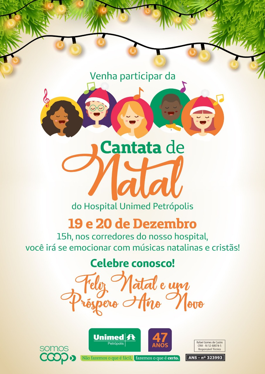 Cantata de Natal do Hospital Unimed Petrópolis