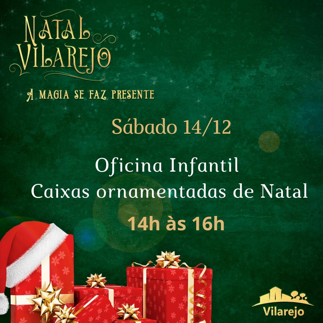 """""""A MAGIA SE FAZ PRESENTE"""" - NATAL NO SHOPPING VILAREJO"""