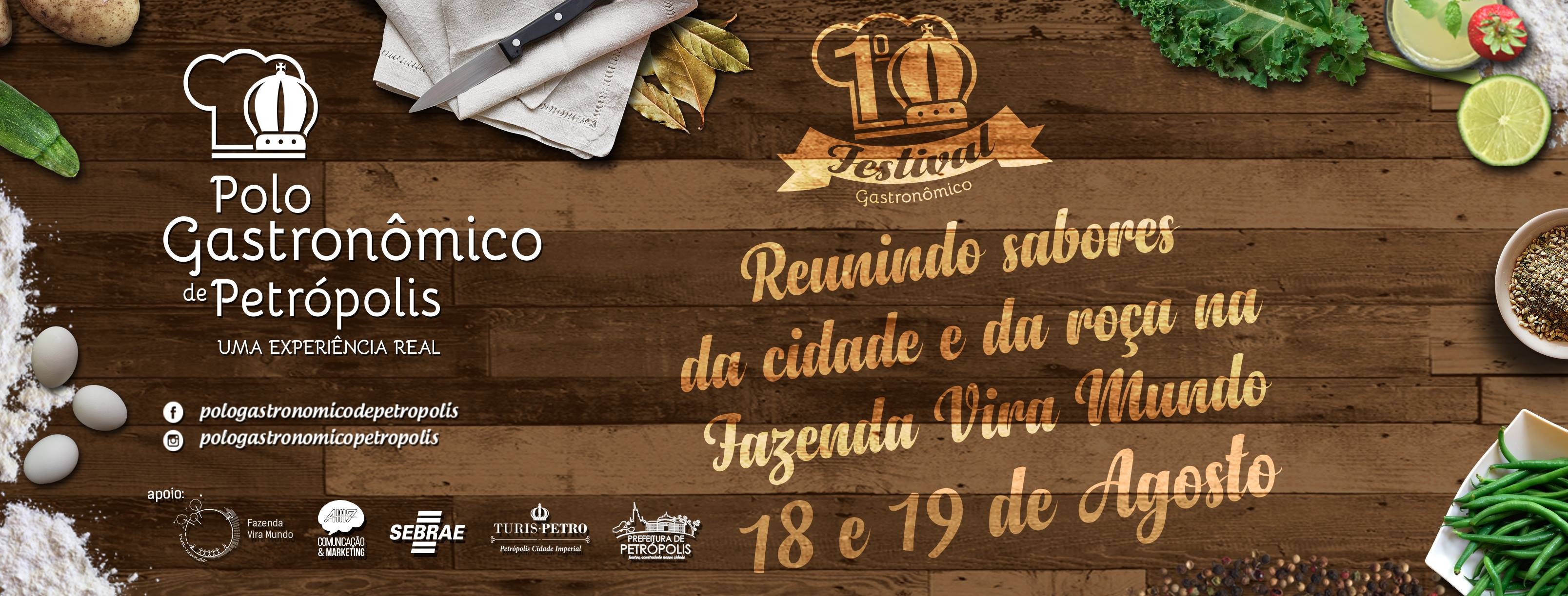 1º Festival Gastronômico - Polo Gastronômico de Petrópolis