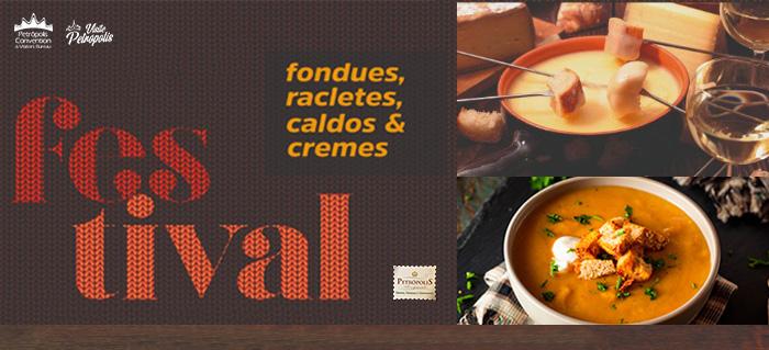 11º Festival de Fondues, Racletes, Caldos e Cremes