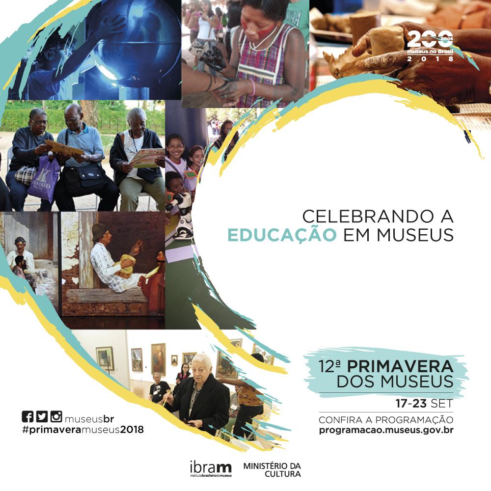 12ª Primavera dos Museus celebrará a educação museal