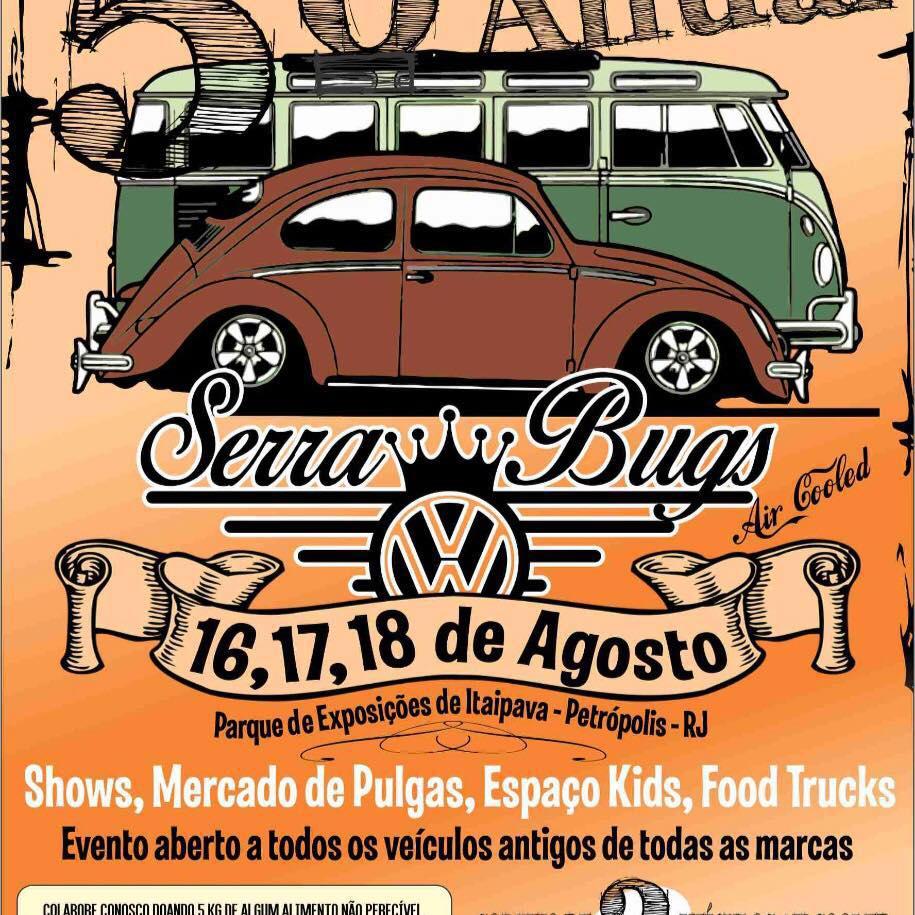 5º Anual Serra Bugs Aircooled e Antigos