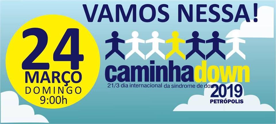 CaminhaDown Petrópolis 2019