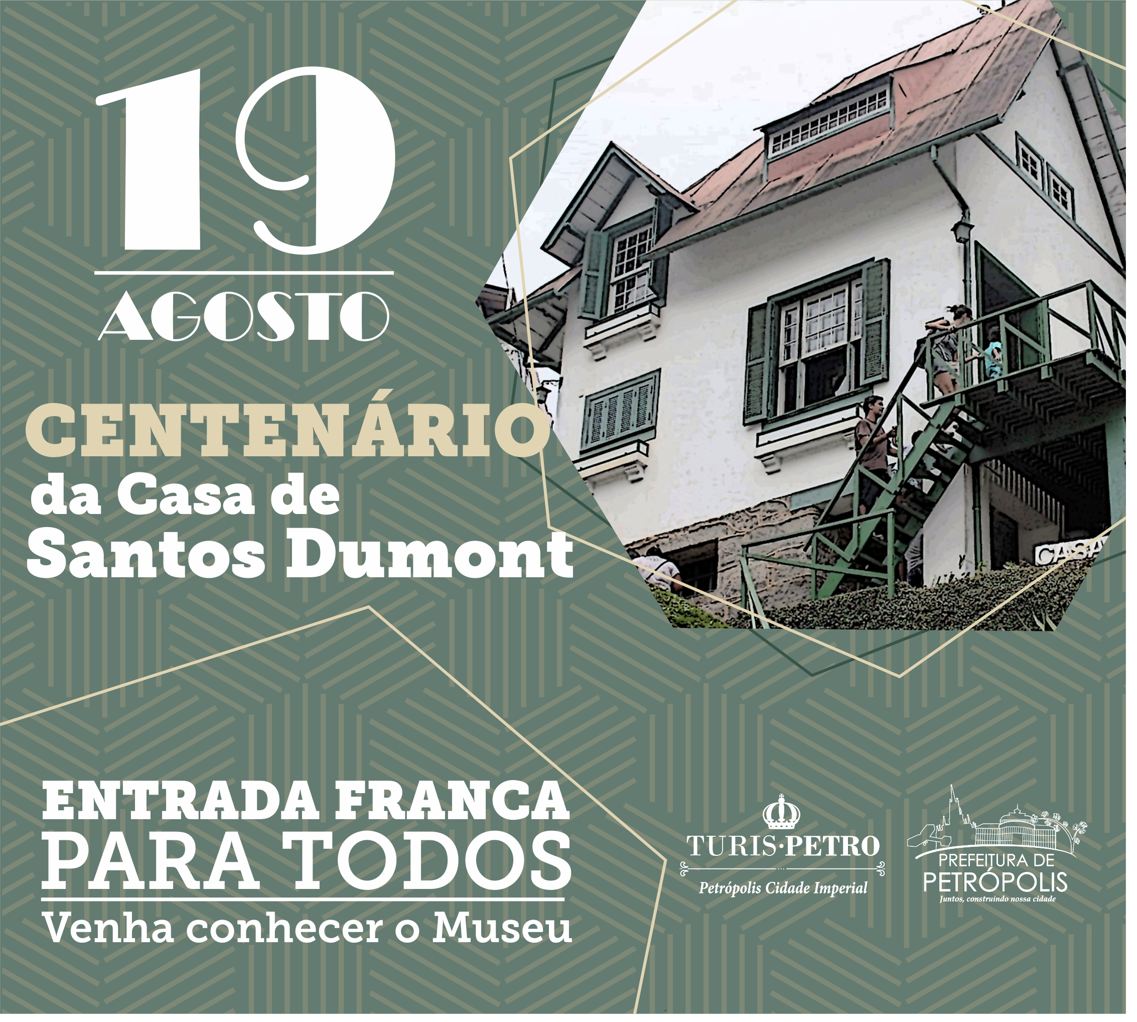Centenário Casa de Santos Dumont