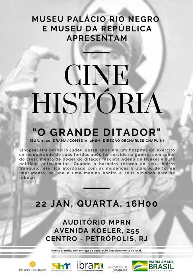 """Cine História: """"O grande ditador"""""""
