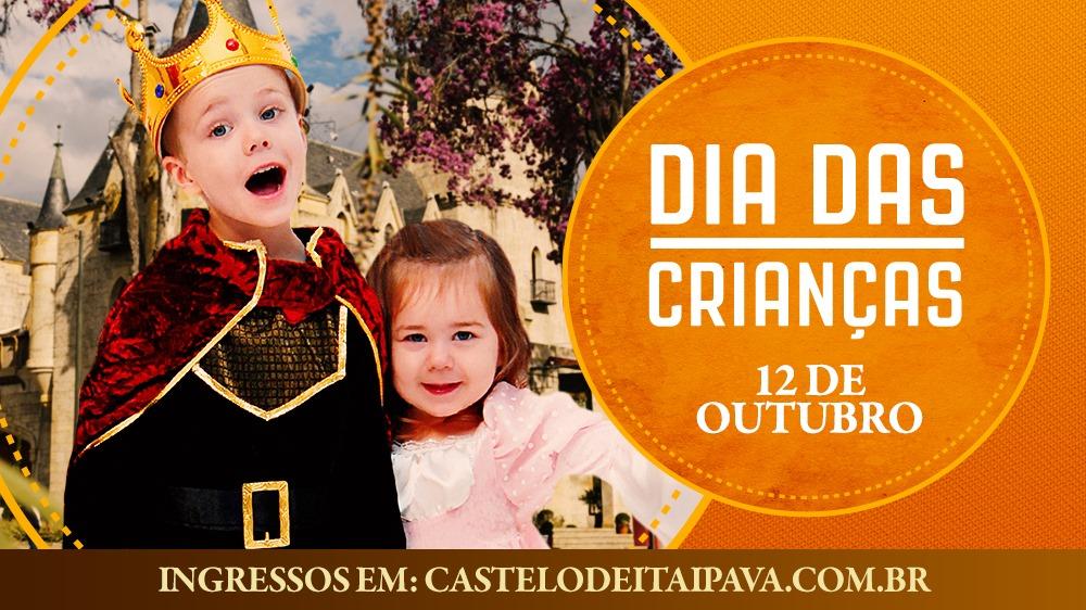 Dia das Crianças no Castelo de Itaipava