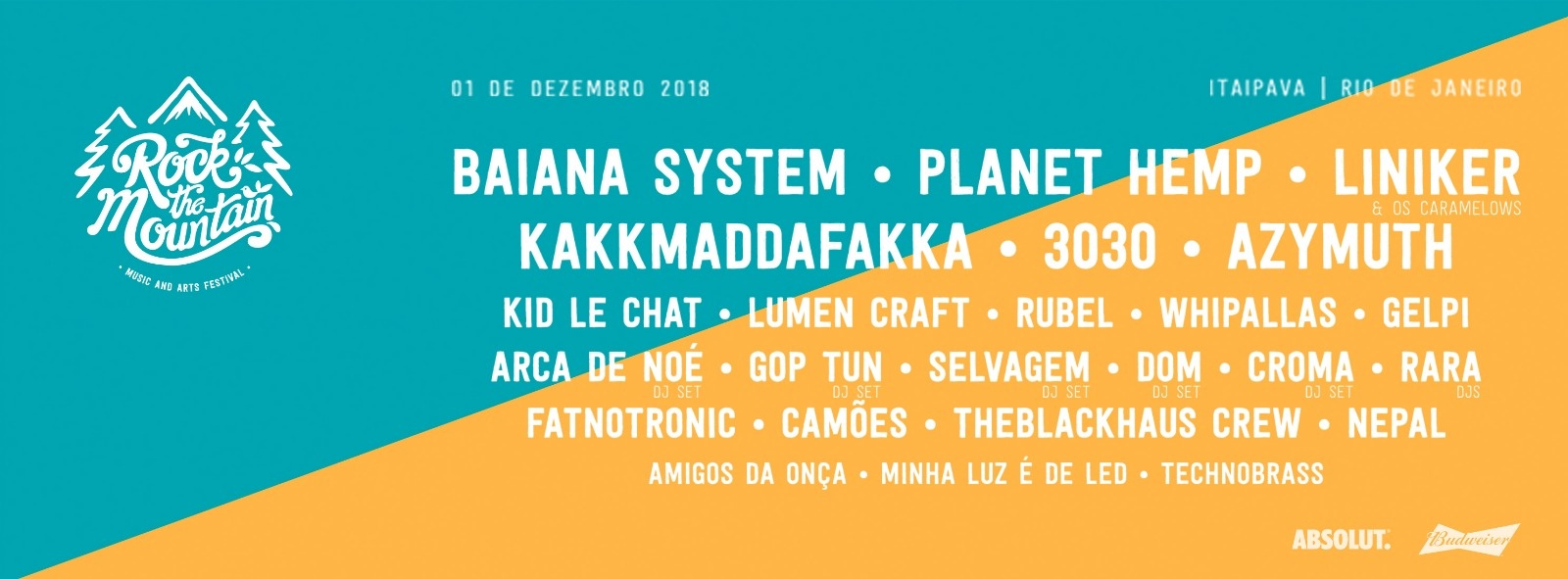 Festival Rock the Mountain 2018 - Itaipava