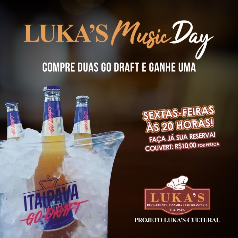 Luka's Music Day!