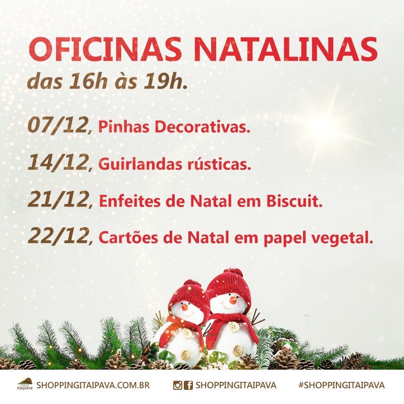 Natal no Shopping Itaipava